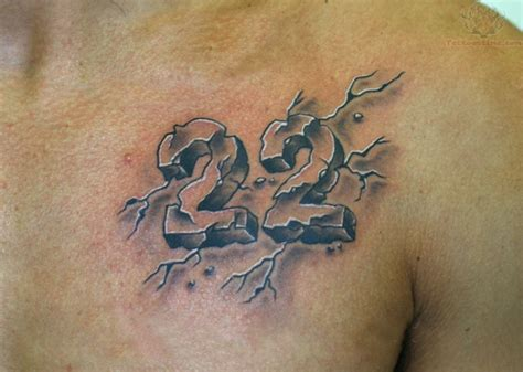 tattoo numbers 3d 58 incredible number tattoos ideas