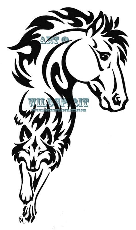 tribal horseshoe tattoo tribal n wolf design tattoos book 65 000