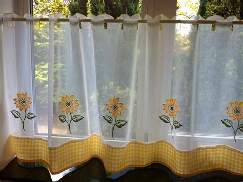 cafe curtain ideas voile cafe net curtain panels 19 great designs 18 quot 24
