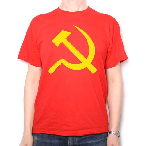 t shirt hammer sickle t shirt communist t shirts at old skool