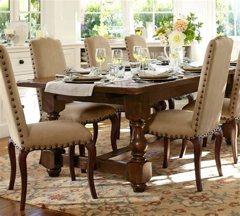 pottery barn dining room tables 12 person dining table designs and benefits homesfeed