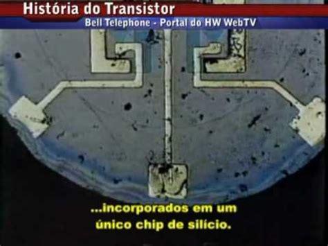 transistor historia hist 243 ria do transistor