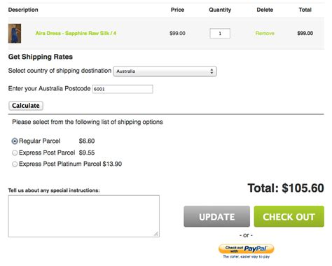 shopify themes with shipping calculator australia post shipping calculator for online stores