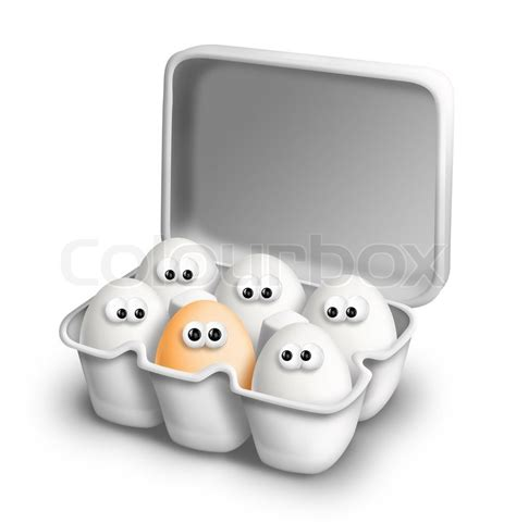 Container Home Plans by Funny Cartoon Eggs In Egg Carton Stock Photo Colourbox