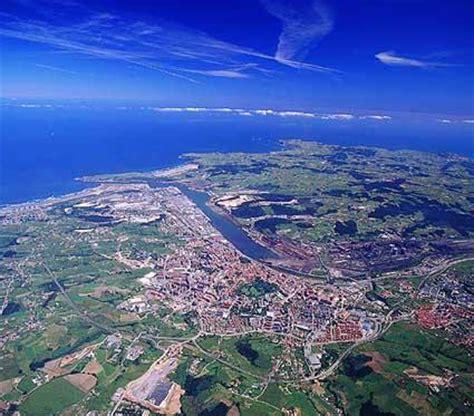 fotos aereas antiguas de pueblos de españa vista a 233 rea aviles asturias