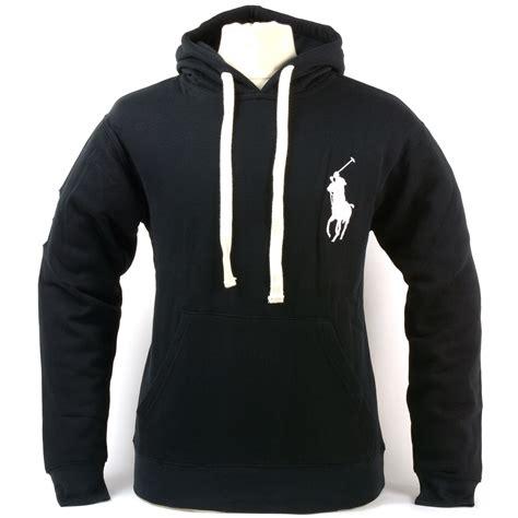 Hooded Drawstring Pullover polo ralph mens big pony hoodie drawstring pullover