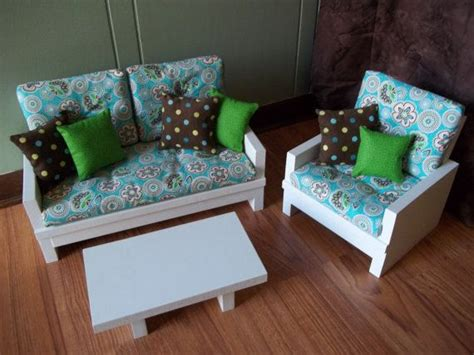 American Doll Living Room by Doll Loveseat Chair Table Living Room Furniture Set For