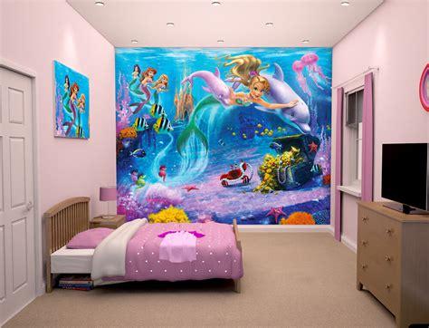 walltastic mermaids kids wall mural bubs n grubs
