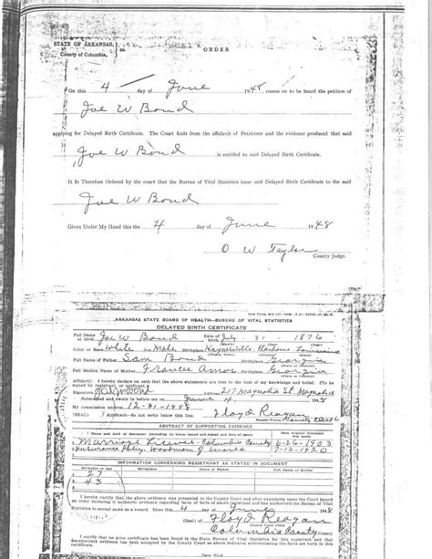 Archives Birth Records Usgenweb Archives Claiborne Parish La Vital Records