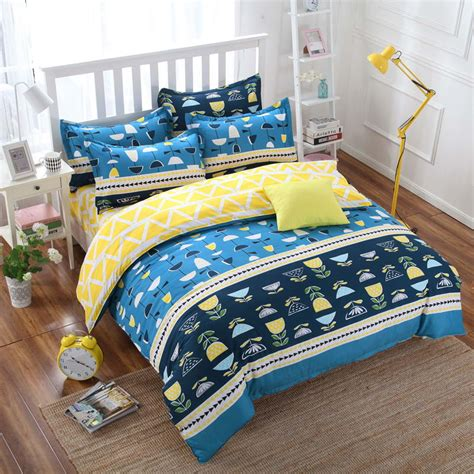 blue and yellow bedding sets online get cheap pine bedroom sets aliexpress com