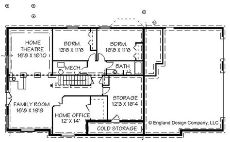 One Story Ranch House Plans With Basement by Luxury Simple Ranch House Plans With Basement New Home