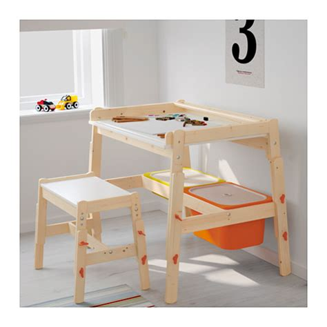 Ikea Kid Desk Flisat Children S Desk Adjustable Ikea
