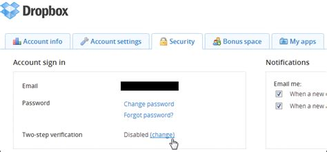 dropbox two factor 6 ways to secure your dropbox account