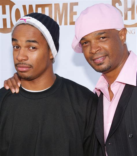 damon wayans with son michael wayans known people famous people news and