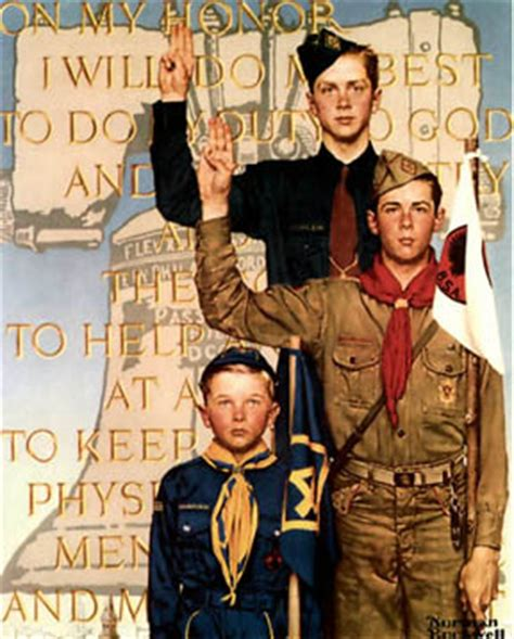 scout s honor books rompedas norman rockwell and boy scouts of america