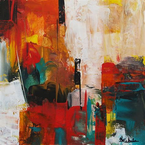contemporary abstract painting abstract modern magazin