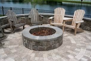 Firepit Pavers Bamboo Landscapes Pits Pavers Landscaping With Pits Outdoor Kitches Pools