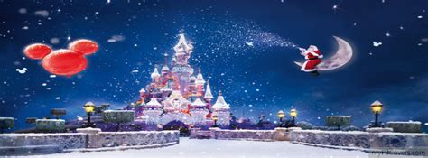 christmas disneyland facebook cover photo disneyland covers myfbcovers