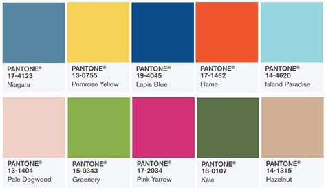 fashion colors for spring 2017 pantone color trend report fashion stylechicago com