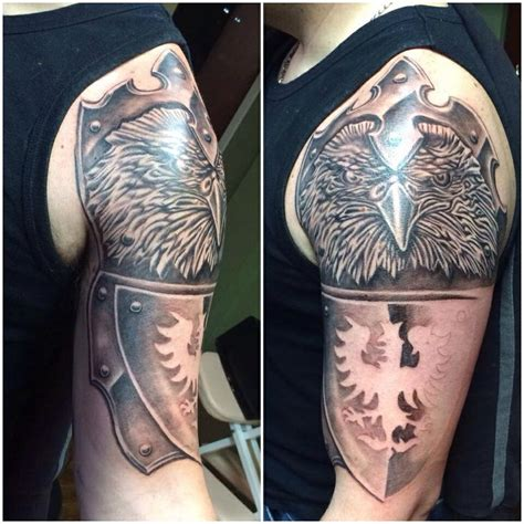 polish eagle armor tattoo travisnorbytattoos tats