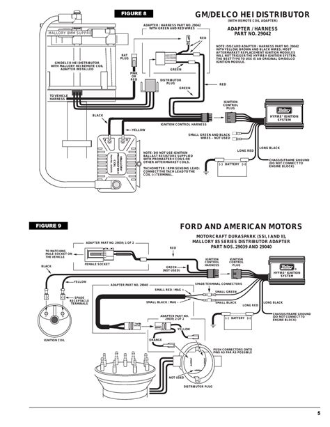 6021 mallory 6a ignition wiring diagram mallory dual point