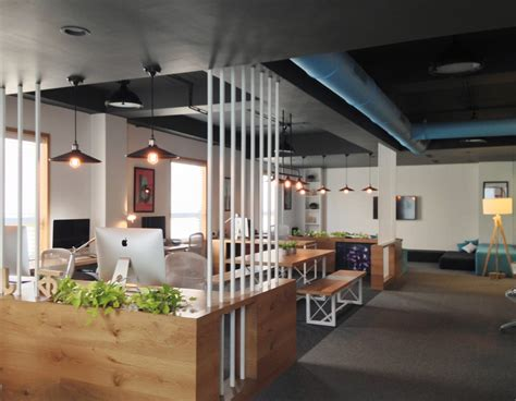 fashion designer office interior design ideas chic open space office design ideas
