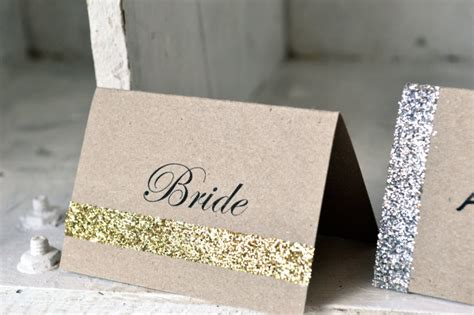 how to make wedding placement cards unique wedding card place card ideas