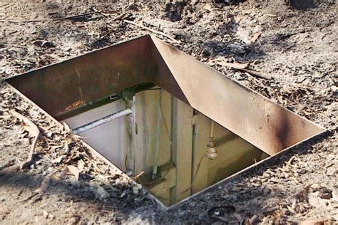 Backyard Bunker Plans by Hints On Building An Underground Container Shelter In Your