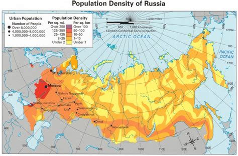 russia density map population density of russia 2034x1336 mapporn