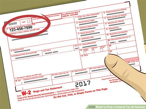 Lookup Federal Tax Id Number 4 Ways To Find A Federal Tax Id Number Wikihow