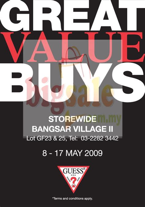 Guess Sale shopping discounts and warehouse sales in malaysia guess