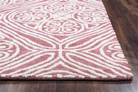 Pink Runner Rug Harbor Trellis Wool Runner Rug In Pink White 2 6 Quot X 8