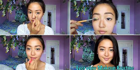 tutorial makeup simple untuk pemula cara makeup simple ke kus saubhaya makeup