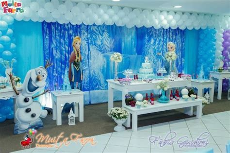 frozen decorations ideas kara s ideas frozen themed birthday of