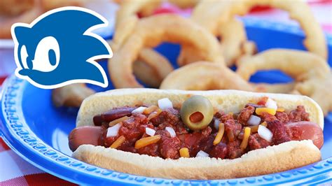 chilly dogs sonic chili dogs with gold rings nerdy nummies