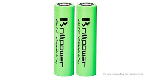 Murah Blackcell Imr18650 3100mah 40a 13 94 brillipower imr18650 3 7v 3100mah rechargeable li ion battery 2 pack authentic 40a