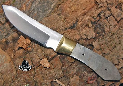 How To Make Handmade Knives - damascus blanks custom blank skinner knife