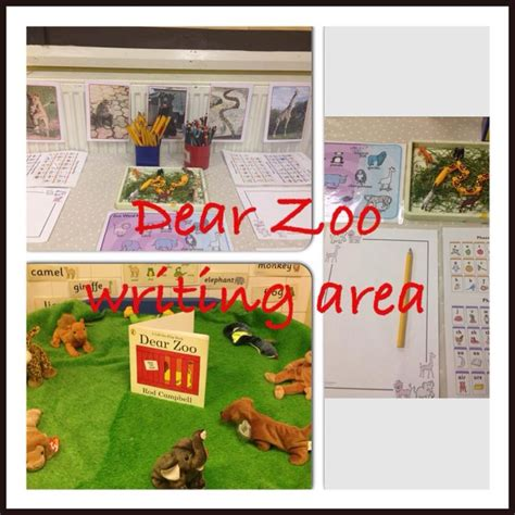 the zoo story themes pdf our writing area in eyfs for our animal topic linked to