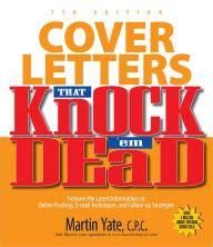 cover letters that knock em dead by martin yate