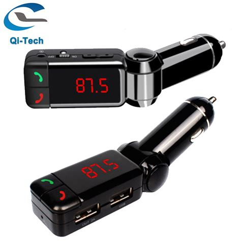 best fm transmitter for android best new car lcd bluetooth handfree car kit mp3 fm transmitter usb charger free for iphone