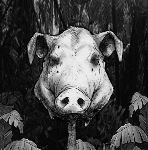 lord of the flies themes the beast 432526 lord of the flies piggy death scene jpg w 614
