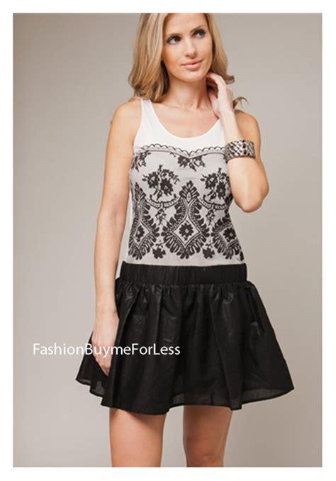 Horn Style Sml Dress peppe peluso designer style clubwear lace print tank top ruffle mini dress sml ebay