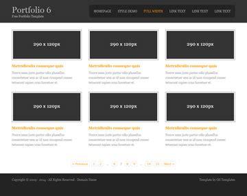 portfolio 6 portfolio templates os templates