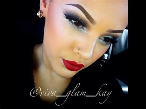 Tutorial Eyeshadow Viva bold makeup tutorial viva glam hostzin
