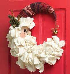 door wreath decoration on christmas day christmas door