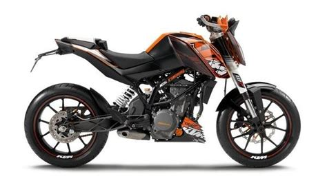 Top Speed Ktm Duke 125 2013 Ktm 125 Duke Motorcycle Review Top Speed