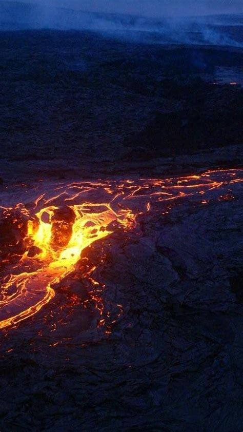 landscapes nature volcanoes lava rocks magma wallpaper