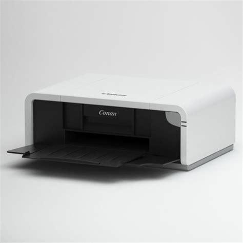 Printer 3d Canon canon printer 3d cgtrader