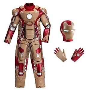 disney store marvel avengers iron man deluxe costume
