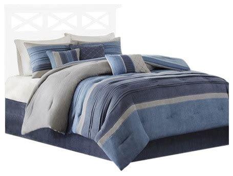 microsuede bedding sets shop houzz olliix microsuede 7 comforter set